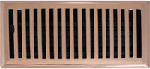 Contemporary Style Copper Floor Registers
