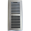 Contemporary Style Satin Nickel Plastic Registers