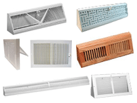 floor register | return air grilles | air vents