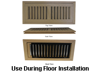 Flush Mount Registers