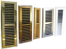 Contemporary Style Plastic Registers