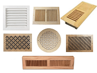 Wood Registers & Return Grills