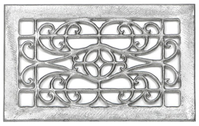 Decorative Wall Grille, Interior Or Exterior Wall Vent Cover