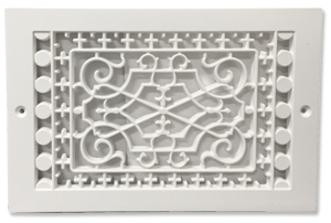 10 x 6 Plastic Decorative Baseboard Cover