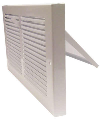 Metal Heat Register Baseboard Register Cover