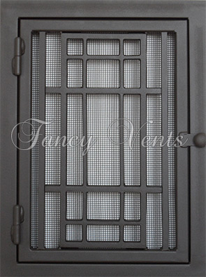 Hinged Return Air Filter Grille Decorative Return Air Grille