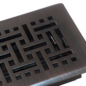 Oil Rubbed Bronze Heat Registers Floor Vent Covers