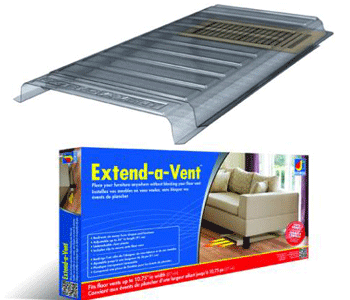 Air Deflector - Extend A Vent