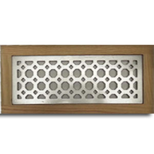 Metal Flush Mount Vent Octagon Design