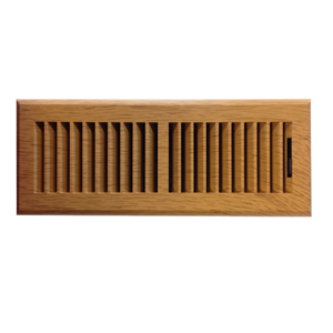 4 x 10 Plastic Contemporary Oak Register