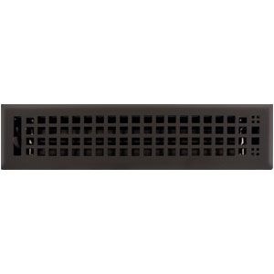 Black Floor Register Heat Vent Cover