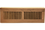 Zoroufy 15 Inch Brazilian Cherry Wood Baseboard Diffuser - Unfinished