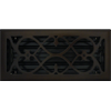 4 x 10 Victorian Oil Rubbed Bronze Plated Register