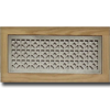 4 X 12 Metal Flush Mount Vent - Royal