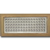 4 X 12 Metal Flush Mount Vent - Square