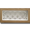 4 X 12 Metal Flush Mount Vent - Vintage