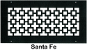 Steel Crest Wall Register Santa Fe Style