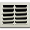 10 X 8 Stamped Steel Return Air Grille - White