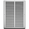 14 X 20 Stamped Steel Return Air Grille - White