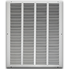 16 X 20 Stamped Steel Return Air Grille - White
