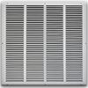 20 X 20 Stamped Steel Return Air Grille - White
