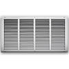24 X 12 Stamped Steel Return Air Grille - White