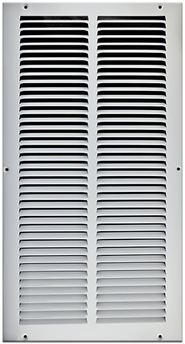 10 X 20 Stamped Steel Return Air Grille White