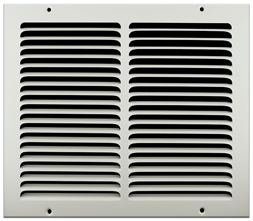 12 X 10 Stamped Steel Return Air Grille - White
