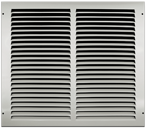 14 X 12 Stamped Steel Return Air Grille - White