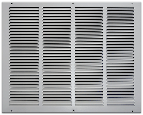 20 X 16 Stamped Steel Return Air Grille - White