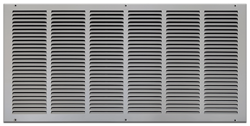 30 X 14 Stamped Steel Return Air Grille - White