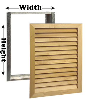 Worth Architectural Series 12 x 36 Wood Return Filter Grill