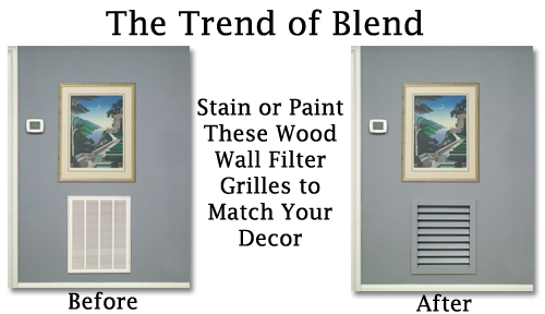 Worth Wood Wall Filter Grilles