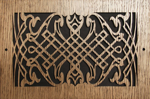 Wood Return Decorative Wall Grille