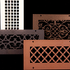 Steel Crest Decorative Return Grills