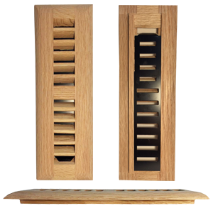 Wood Air Register 2 X 10 Floor Vents