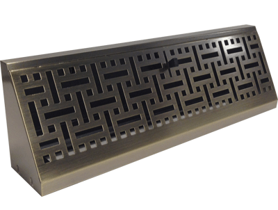 Baseboard Air Register Decorative Vent