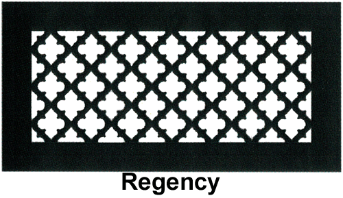 Gold Series Floor Grill Regency | Floor Register Resources