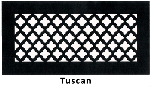 Good Gold Series Floor Grill Tuscan