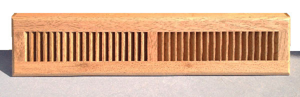 24 Baseboard Diffuser Wood Register Cover