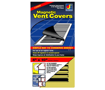 4 x 10 Magnetic Floor Vent Cover - Gold