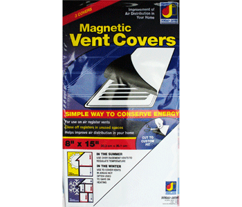 Magnetic register cover block vents for How to improve airflow in vents