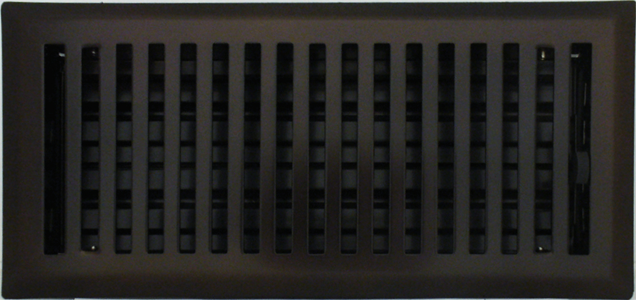 Oil Rubbed Bronze Register Cover 4 X 10 Heat Vent Covers
