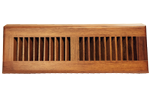 Zoroufy 15 Inch Brazilian Cherry Wood Baseboard Diffuser - Natural Finish