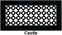 Gold Series Floor Grill Castle