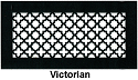 Gold Series Floor Grill Victorian