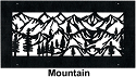 Steel Crest Wall Register Mountain Style
