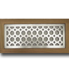 4 X 12 Metal Flush Mount Vent - Octagon