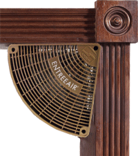 EntreeAir Door Frame Fan - Brown