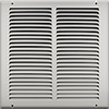 12 X 12 Stamped Steel Return Air Grille - White